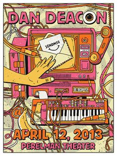 GigPosters.com - Dan Deacon