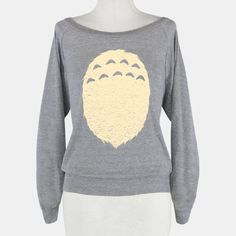 A Fuzzy Friend | HUMAN | T-Shirts, Tanks, Sweatshirts and Hoodies TOTORO