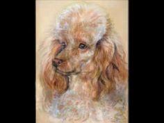 Pastely Renáty Kaiserové 2 Psi, Pastel, Dogs, Animals, Animais, Animales, Animaux, Pet Dogs, Doggies