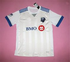 ed97ed46a Montreal Impact 17-18 Season Away White MLS Shirt Jersey Montreal Impact  17-18 Season Away White MLS Shirt Jersey