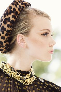 A fall fashion editorial for LoveGold starring Devon from Ford Models