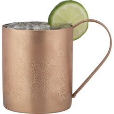 Solid Copper Moscow Mule Mug - 16oz Authentic Moscow Mule Mugs with No Inner…