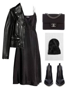 """Untitled #6534"" by ijustlikefashionman ❤ liked on Polyvore featuring Yves Saint Laurent, Acne Studios and Chanel"