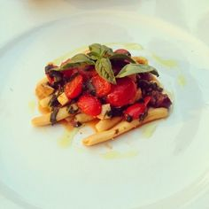 Beautiful fish pasta in Sicily, Italy. Find out where to eat in Sicily in my travel guide www.theprovocativecouture.com