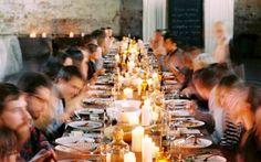 Wilt u weleens dineren in een kerk?
