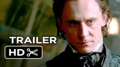 Tom Hiddleston & Mia Wasikowska star in the gorgeous & haunting trailer for 'Crimson Peak' from director Guillermo del Toro.