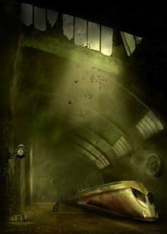 The Dark Tower - Trainstainsion in The Lud city