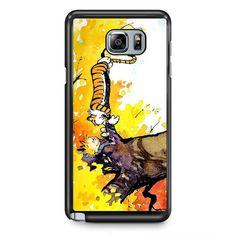 Calvin And Hobbes In Tree TATUM-2246 Samsung Phonecase Cover Samsung Galaxy Note 2 Note 3 Note 4 Note 5 Note Edge