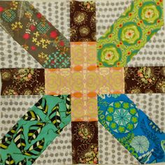 she can quilt: Karen's Giant x and + Block - a 2013 FAL Tutorial