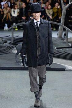 Thom Browne Fall 2014 Menswear. Nice.