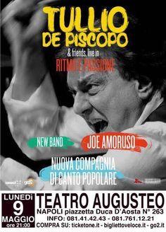 Tullio De Piscopo al Teatro Augusteo di Napoli, ecco quando a cura di Redazione - http://www.vivicasagiove.it/notizie/tullio-de-piscopo-al-teatro-augusteo-napoli/