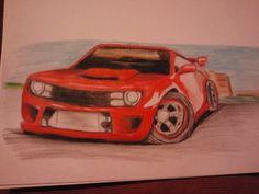 Camaro red