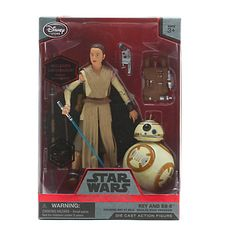 REY & BB8 (with lightsaber) | Disney Store exclusive ELITE SERIES 2015 | swmycollection.com