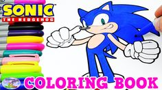 Sonic The Hedgehog Coloring Book Episode Speed Coloring Surprise Egg and...