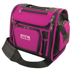 2de4a95de00e The Original Pink Box 14 in. Wide Open Tool Bag in Pink-PB14WOTB - The Home  Depot