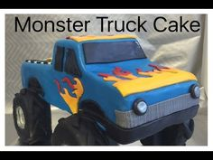 How to make a Monster Truck Cake - YouTube