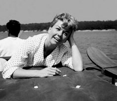 Doris Day, On vacation in Canne.