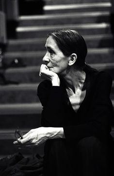 Pina Bausch- One of the greatest choreographers/dancers that I have ever known.