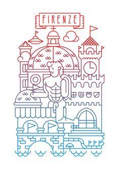Marco Romano (UK)  #Marco Romano #illustration #art #digital art #curioos #graphic design