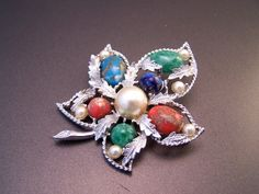 Fantasy Brooch by  Sarah Coventry by LucyLucyLemon on Etsy, $11.99