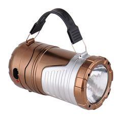 Rechargeable Solar Flashlight – Camp Light Club