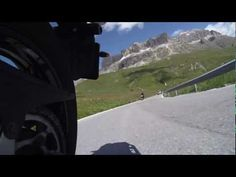 Motorcycle at Dolomites #touring #motorcycle #mountains #Yamaha http://biguseof.com/videowall-just-for-laughs/