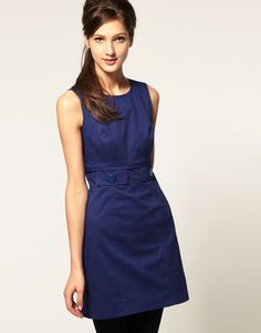 ASOS 60's Shift Dress in Cotton $34.02