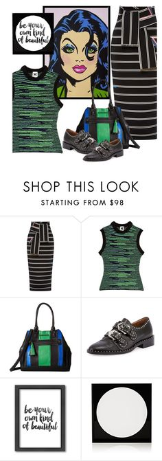 """""""Untitled #1086"""" by petalp ❤ liked on Polyvore featuring Preen, M Missoni, Steve Madden, Givenchy, Americanflat and Lisa Perry"""