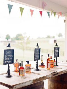 Wedding Reception Idea We Love: Whiskey Bars | Brides.com