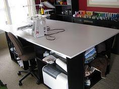#DIY craft desk