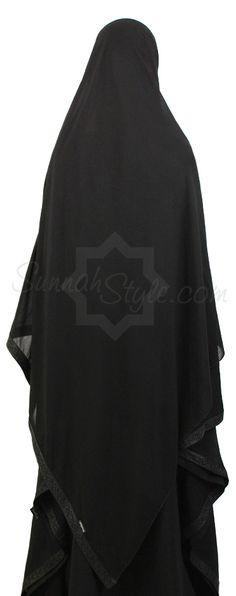 Obsidian Shayla by Sunnah Style Abaya Fashion, Muslim Fashion, Black Hijab, Islamic Clothing, Dress With Cardigan, Muslim Women, Modest Outfits, Hijab Quotes, My Style