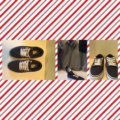Women's Vans Navy Blue Like New Vans Shoes Sneakers