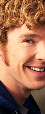ginger sideburned Benedict Cumberbatch