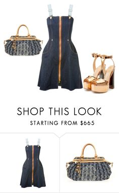 """Untitled #4776"" by browneyegurl ❤ liked on Polyvore featuring Natasha Zinko, Louis Vuitton and Giuseppe Zanotti"