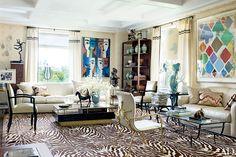 Tour Interior Designer Richard Mishaan's Family Apartment in Manhattan Photos | Architectural Digest