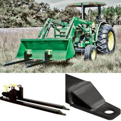 These Load-Quip® Steel Bucket Forks are perfect for moving pallets, lumber, timbers and more with your tractor or skidsteer. Compatible with almost any tractor bucket, making any construction, ag. or do-it-yourself job easier and faster.
