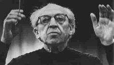 """Aaron Copland; """"The whole problem can be stated quite simply by asking, 'Is there a meaning to music?' My answer would be, 'Yes.' And 'Can you state in so many words what the meaning is?' My answer to that would be, 'No.'"""" -  Aaron Copland, US composer (1900 - 1990); Quote Source: http://www.quotationspage.com/quote/76.html ;"""