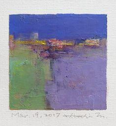 Mar. 19 2017 Original Abstract Oil Painting by hiroshimatsumoto