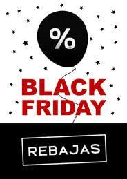 BlackFriday cartel para imprimir gratis   Imprimir sobres, Cartel, Rebajas