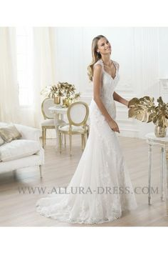 Square Court Train Tulle A Line Wedding Dress 11013129 - A-Line Wedding Dresses - Wedding Dresses