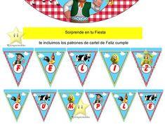 Kit Imprimible Granja De Zenon Canciones De La Granja Y Mas - S/. 18 en Melinterest
