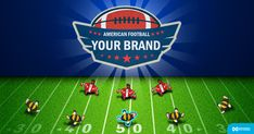 Carry the ball into the opposing team's end zone without being tackled. Mini Games, American Football, Football