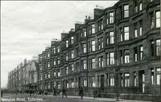 My Dad lived on this road when he was a young lad. My Granddad was the head gardener at Tollcross Park. They lived in a house in the park that was on Wellshot Road. Family History Book, Young Lad, Glasgow Scotland, Destruction, Old Photos, Cities, Paisley, Victorian, Park