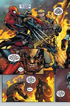 Cap vs Wolverine by Joe Madureira Comic Book Artists, Comic Book Characters, Marvel Characters, Comic Artist, Comic Character, Comic Books Art, Character Design, Bd Comics, Anime Comics