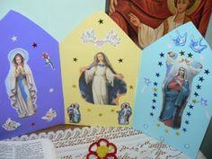 Homeschoolingdownunder: The Assumption of Mary (craft)