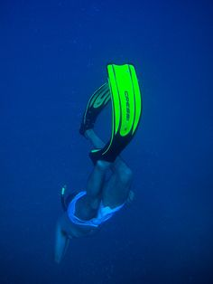 Free diving on Greece