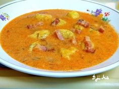 Soup Recipes, Cooking Recipes, Cheeseburger Chowder, Thai Red Curry, Nutella, Healthy Living, Food And Drink, Baking, Ethnic Recipes