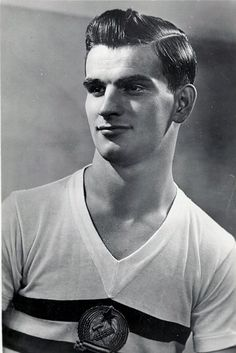 Sandor Kocsis aka Tête d'Or.  Honved & World Cup 1954 hero, striker of the legendary Magyar Golden Team