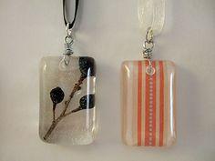 Make your own resin pendants