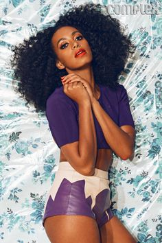 b7755a132fc Solange Knowles Cover Complex June July 2013 Solange Knowles by JUCO for  Complex June July Source  Complex View Post